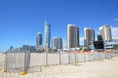 De gouden Week van Kustschoolies - Queensland Australië Stock Foto
