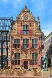 De Goudkantoor (Gouden Bureau) bouw in Groningen, Nederland Stock Foto