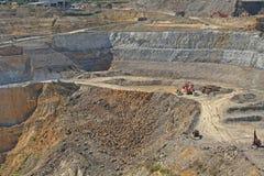 De goudmijn van Martha, Waihi, Nieuw Zeeland Stock Foto's
