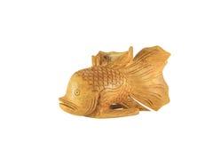 De goudvis isoleert Stock Fotografie