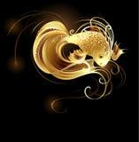 De goudvis van de juwelier vector illustratie