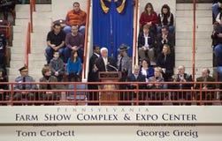 De Gouverneur Tom Corbett van de PA Royalty-vrije Stock Afbeelding