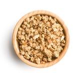 De graangewassen van het granolaontbijt Stock Afbeeldingen