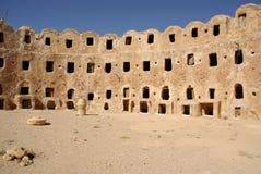 De graanschuur van Berber, Libië Stock Afbeelding