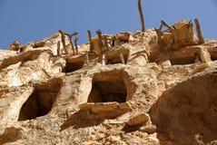 De graanschuur van Berber, Libië Royalty-vrije Stock Foto's