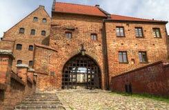 De graanschuur van Grudziadz Stock Foto's