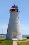 de graci Havre latarnia morska Obrazy Royalty Free