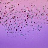 De gradiënt schittert achtergrond in in kleuren Violette en roze textuur Stock Foto