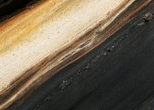 De gradiëntachtergrond van de grond Stock Afbeelding