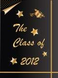 de graduatie van 2012 Royalty-vrije Stock Afbeelding