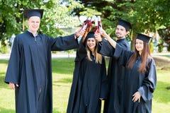 De Graduatiestudent Success Learning Concep van het vieringsonderwijs royalty-vrije stock foto