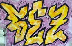 De graffiti Stock Foto's