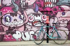 De Graffiti van Montreal Stock Foto's