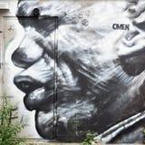 De Graffiti van Montreal Stock Foto