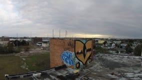 De graffiti van New Orleans stock foto's