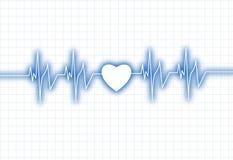 De grafiek van Ðeartbeat Vector Illustratie