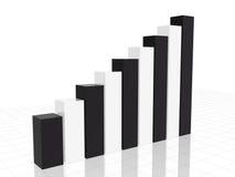 De grafiek van Black&white Royalty-vrije Stock Afbeeldingen