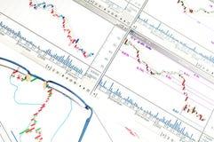 De grafiek van Bussines Royalty-vrije Stock Afbeeldingen