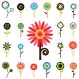 De grafiek van de bloem Stock Afbeelding