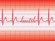 De grafiek van de gezondheid Royalty-vrije Stock Afbeeldingen