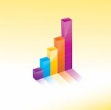 De grafiek van de grafiek Royalty-vrije Stock Fotografie