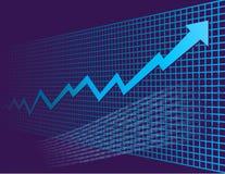 De grafiek van de groei Royalty-vrije Stock Fotografie