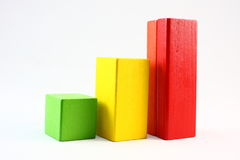 De Grafiek van de groei Stock Afbeeldingen