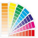 De grafiek van de kleur Stock Afbeelding