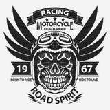 De grafiek van de motorfietst-shirt stock illustratie