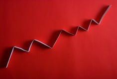De grafiek van de pijl Stock Fotografie