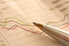 De Grafiek van de voorraad Royalty-vrije Stock Foto's