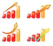 De Grafiek van de vooruitgang Royalty-vrije Stock Foto