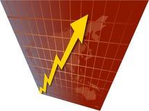De Grafiek van de wereld Royalty-vrije Stock Foto