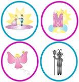 De Grafiek van Fairytale Royalty-vrije Stock Foto's