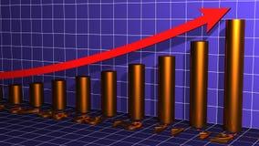De Grafiek van het jaar Royalty-vrije Stock Afbeeldingen