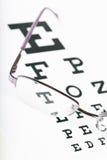 De grafiek van het oog stock afbeeldingen