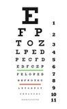 De grafiek van het oog Stock Foto