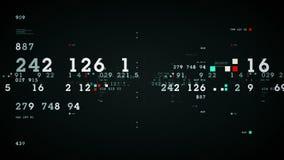 De Grafiekzwarte van voorraadprestaties vector illustratie