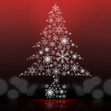 De grafische achtergrond van de kerstboom Royalty-vrije Stock Afbeelding