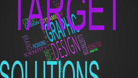 De grafische montering van ontwerpmodewoorden stock illustratie