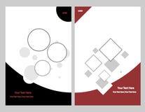 De grafische reeks van de brochure Stock Foto's