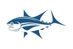 De grafische stijl van de vissentatoegering, vector Royalty-vrije Stock Foto