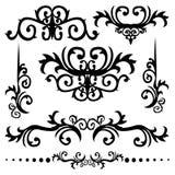 De grafische Vector van de Elementen van het Ontwerp Royalty-vrije Stock Foto