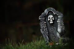 De grafsteen van Halloween RIP Stock Foto