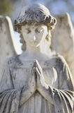 De Grafzerk van de engel stock afbeeldingen