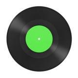 De grammofoonschijf van de muziek Stock Fotografie
