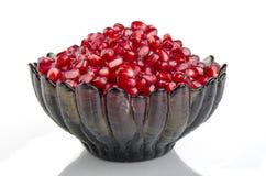 De granaatappel van de korrel Stock Foto's