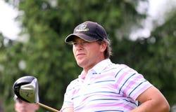 De Grancey au golf Prevens Trpohee 2009 Photographie stock libre de droits