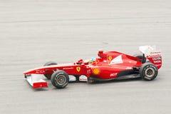 De Grand Prix 2011 van Maleisië Formule 1 Stock Foto's