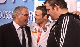 De Grand Prix 2012 Düsseldorf Duitsland van het judo Stock Afbeeldingen